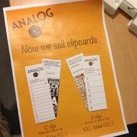 Foto tirada no(a) Café Analog por Jacques H. em 9/10/2012