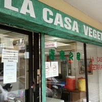 Foto tomada en La Casa Vegetariana por Hernan G. el 11/7/2011