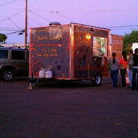 Photo taken at Short Leash Mobile Hot Dog Eatery by Marshie T. on 10/9/2011