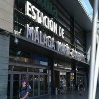 รูปภาพถ่ายที่ Estación de Málaga-María Zambrano โดย SMR เมื่อ 7/3/2012