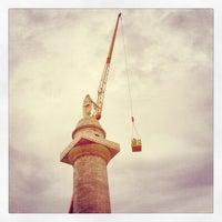 Снимок сделан в Washington Monument пользователем Jonathan A. 8/28/2012
