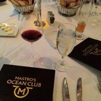 Снимок сделан в Mastro's Ocean Club пользователем asianbama 4/10/2012
