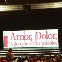 Foto tomada en Teatro de los Insurgentes por Mayra el 9/1/2012
