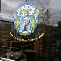 Foto scattata a Fremont Brewing Company da C. Christine C. il 7/17/2013