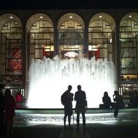 Снимок сделан в Lincoln Center for the Performing Arts пользователем Peter C. 10/20/2012