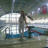 3/12/2015 tarihinde Kübra B.ziyaretçi tarafından Tekirdağ Gençlik Hiz. ve Spor İl Md. Kapalı Yüzme Havuzu'de çekilen fotoğraf