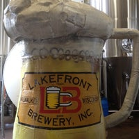 Photo prise au Lakefront Brewery par Ronald T. le9/16/2012