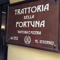 Foto scattata a Trattoria Della Fortuna da Xander W. il 8/9/2013