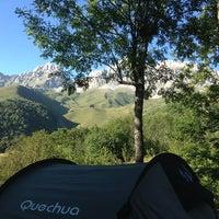 Foto tomada en Camping El Cares Picos de Europa por Mariángeles F. el 8/9/2013