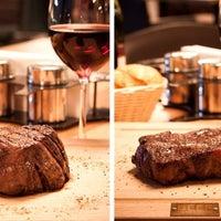 Снимок сделан в BEEF Мясо & Вино пользователем Lifestyle-издание bit.ua | Be in trend! 7/22/2013