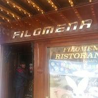 Das Foto wurde bei Filomena Ristorante von Adrian G. am 3/30/2013 aufgenommen