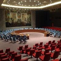 Das Foto wurde bei Vereinte Nationen von Elena G. am 10/25/2013 aufgenommen