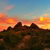 Photo taken at Papago Park by Frankie F. on 3/16/2013