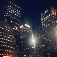 9/18/2012 tarihinde Tom B.ziyaretçi tarafından Canary Wharf'de çekilen fotoğraf