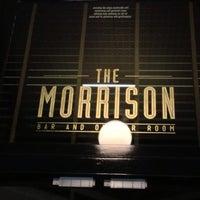 Foto tirada no(a) The Morrison Bar & Oyster Room por Trevor D. em 7/5/2013