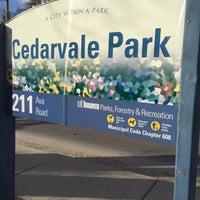 2/6/2016 tarihinde Treasure D L.ziyaretçi tarafından Cedarvale Park'de çekilen fotoğraf