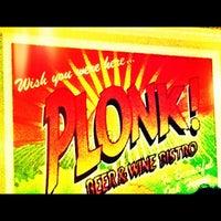 Foto tirada no(a) Plonk! Beer & Wine Bistro por Jeremy S. em 11/17/2012