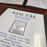 Kim Tai Vietnamese - Vietnamese Restaurant in Houston