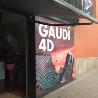 Foto tomada en Gaudí Experiència por Kirill el 8/22/2013
