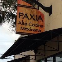 Das Foto wurde bei Paxia Alta Cocina Mexicana von Brad K. am 11/8/2013 aufgenommen