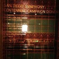 Foto tomada en Copley Symphony Hall por Keitaro H. el 4/14/2013