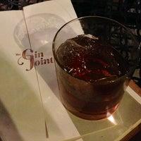 Menu - The Gin Joint - French Quarter - Charleston, SC