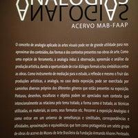 Foto tirada no(a) Museu de Arte Brasileira MAB-FAAP por Keller D. em 8/29/2013