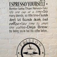 Снимок сделан в Frisson Espresso пользователем Pam L. 4/12/2015