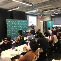 Foto tomada en NYU Leslie Entrepreneurs Lab por Frank R. el 8/2/2018