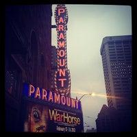 Das Foto wurde bei Paramount Theatre von Bianca S. am 2/21/2013 aufgenommen