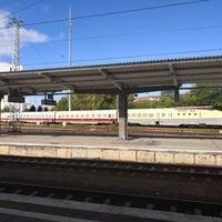 Das Foto wurde bei Bahnhof Berlin-Lichtenberg von David L. am 9/27/2018 aufgenommen