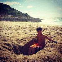 Foto tirada no(a) Praia da Foz por Joana M. em 4/25/2014