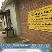 City Of Austin Office Of Vital Records - 1 tip