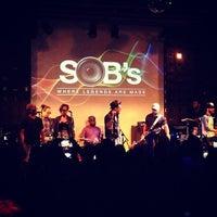 Снимок сделан в S.O.B.'s пользователем David C. 6/10/2013