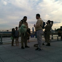 7/18/2014에 Peter M.님이 River Flicks - Pier 46에서 찍은 사진