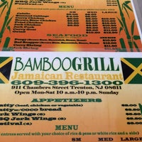 Photo Taken At Bamboo Grill Jamaican Restauant By Dave K On 8 26