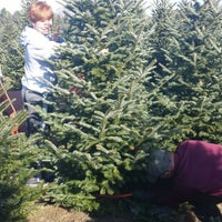 ... Photo taken at Candy Cane Christmas Tree Farm by Merridy T. on 11/30 ...