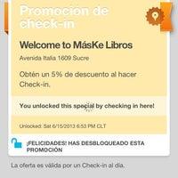6/15/2013にbarrioitalia.tvがMásKe Librosで撮った写真