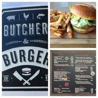 Снимок сделан в Butcher & The Burger пользователем McNair G. 1/4/2013