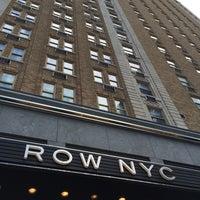 8/21/2015 tarihinde Manoel F.ziyaretçi tarafından Row NYC'de çekilen fotoğraf