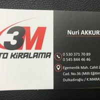 11/12/2018에 NURI A.님이 Kahramanmaraş에서 찍은 사진
