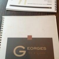 Photo prise au Georges Tea & Lunch par Yue T. le3/22/2013
