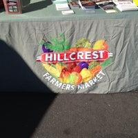 Foto scattata a Hillcrest Farmers Market da Connor L. il 1/5/2014