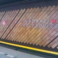 Снимок сделан в Metro =C= Nádraží Holešovice пользователем Jane 10/28/2013