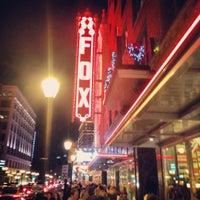 12/17/2012에 Amy C.님이 The Fabulous Fox에서 찍은 사진