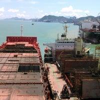 Das Foto wurde bei Cosco Zhoushan Drydocks von Roman M. am 8/7/2014 aufgenommen