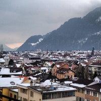 2/20/2013 tarihinde Gisela Z.ziyaretçi tarafından Interlaken'de çekilen fotoğraf
