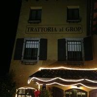 Foto tomada en Trattoria Al Grop por Csaba H. el 12/30/2012