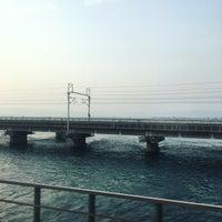 3/29/2018にzhangjijiv5が東海道新幹線 第三浜名橋梁で撮った写真