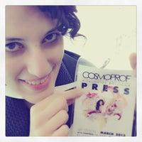 Foto scattata a Cosmoprof Bologna 2013 da Patrizia D. il 3/9/2013
